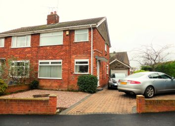 Thumbnail 3 bed semi-detached house for sale in Broad Inge Crescent, Chapeltown, Sheffield