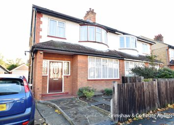 Thumbnail 4 bed property for sale in Gunnersbury Crescent, Acton Town, London