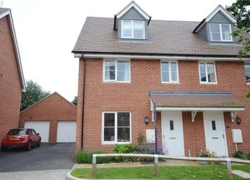 Thumbnail 4 bedroom semi-detached house for sale in Parsons Way, Tongham, Farnham