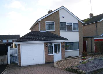 Thumbnail 3 bedroom detached house for sale in Newstead Avenue, Leicester