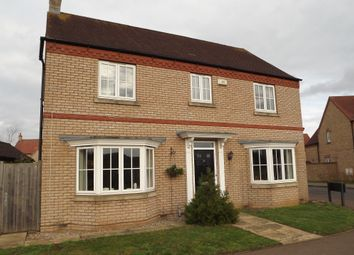 Thumbnail 4 bed detached house for sale in Sandy Road, Potton