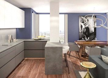 Thumbnail Studio for sale in Maine Tower, Harbour Central, Canary Wharf, London