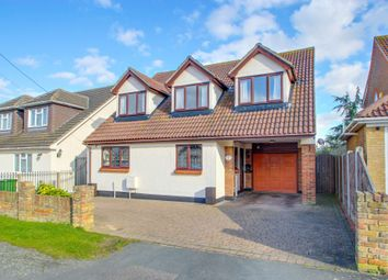 Thumbnail 4 bed detached house for sale in Westlake Avenue, Bowers Gifford, Basildon