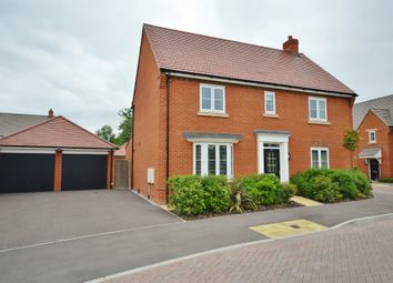 Thumbnail 4 bed detached house for sale in Barnett Road, Steventon, Abingdon