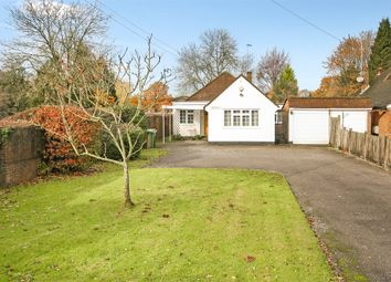 Thumbnail 4 bed detached bungalow for sale in Povey Cross Road, Horley, Surrey