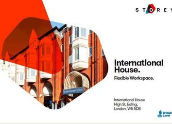 Thumbnail Office to let in International House, High Street, Ealing, London