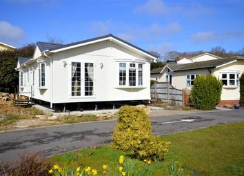 Thumbnail 3 bed mobile/park home for sale in Woodlands Park, Stopples Lane, Hordle, Lymington