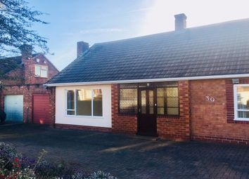 Thumbnail 4 bedroom detached bungalow to rent in Cross Green, Upton, Chester