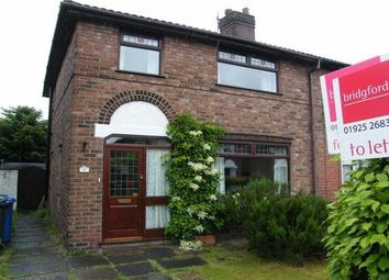 Thumbnail 3 bed property to rent in Holford Avenue, Warrington