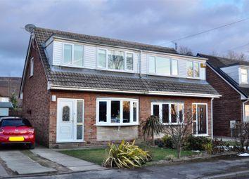 Thumbnail 3 bed semi-detached house for sale in Crantock Drive, Stalybridge