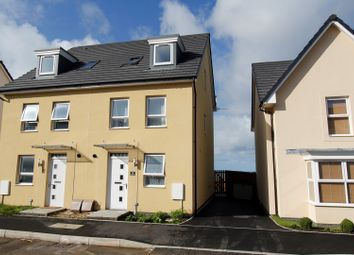 Thumbnail 3 bed town house for sale in Crompton Way, Ogmore-By-Sea