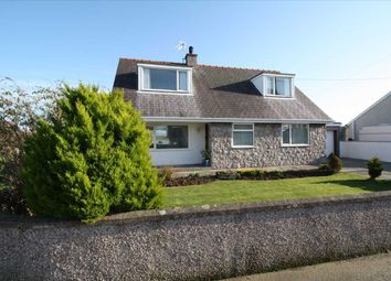 Thumbnail 4 bed detached bungalow for sale in Ty Hen Road, Bryngwran, Holyhead