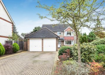 Thumbnail 4 bed detached house for sale in Highcliffe Close, Woodley, Reading