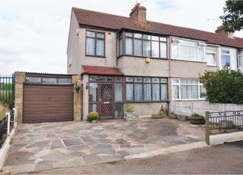 Thumbnail 3 bed end terrace house for sale in Strood Avenue, Romford