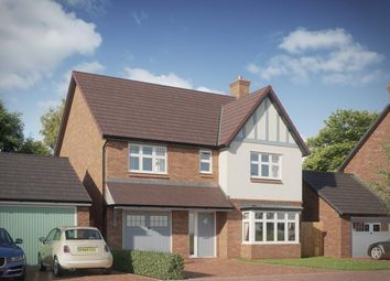 Thumbnail 4 bedroom detached house for sale in Lawnswood, Branston Road, Tatenhill, Staffordshire