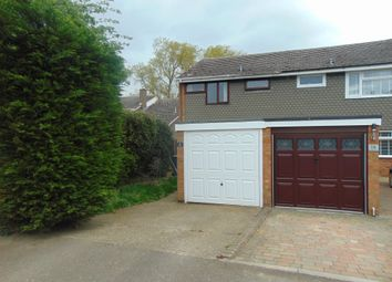 Thumbnail 3 bed semi-detached house for sale in Kingsmede, Shefford