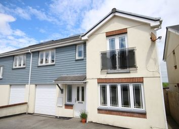 Thumbnail 4 bed semi-detached house for sale in Keston Gardens, Wadebridge