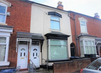 Thumbnail 3 bedroom terraced house for sale in Fentham Road, Birmingham