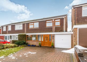 Thumbnail 4 bed semi-detached house for sale in The Wick, Hertford