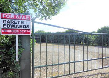 Thumbnail Land for sale in 5 Smallholdings, Coity, Bridgend.