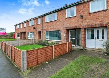 Thumbnail 3 bed terraced house for sale in Halford Close, Attleborough