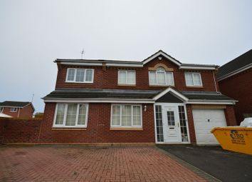 Thumbnail 6 bed detached house to rent in Fox Hollow, Oadby, Leicester