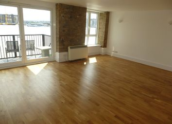 Thumbnail 2 bed flat to rent in Flat 3, Cubitt Wharf, Storers Quay, London