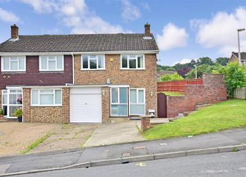 Thumbnail 3 bed semi-detached house for sale in Brookmead Road, Cliffe Woods, Rochester, Kent