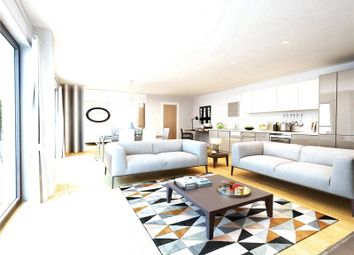 Thumbnail 2 bed flat for sale in Waterside, Earlsfield