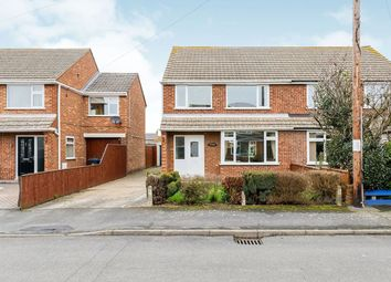 Thumbnail 3 bedroom semi-detached house for sale in Wivell Drive, Keelby, Grimsby