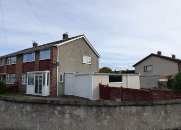 Thumbnail 3 bed semi-detached house for sale in Martins Grove, Worle, Weston-Super-Mare