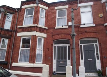 Thumbnail 3 bed terraced house to rent in Cassville Road, Mossley Hill, Liverpool