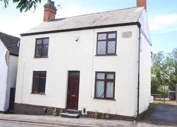 Thumbnail 4 bed detached house for sale in Kirkby Road, Barwell, Leicester