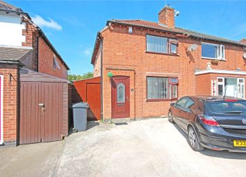 Thumbnail 3 bedroom semi-detached house for sale in Stonehill Avenue, Birstall, Leicester, Leicestershire