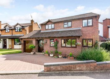 Thumbnail 4 bed detached house for sale in Vaga Crescent, Ross On Wye, Herefordshire