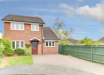 Thumbnail 4 bedroom detached house for sale in Foxglove Bank, Royston