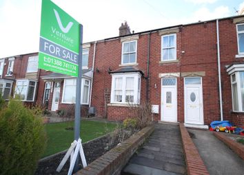 Thumbnail 3 bed terraced house for sale in Belle Vue Terrace, Hunwick, Crook