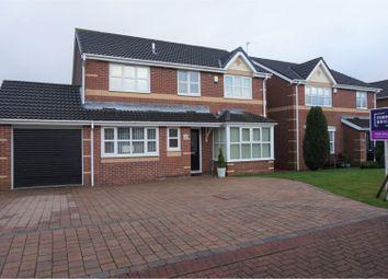 4 bed detached house for sale in Delamere Crescent, Cramlington NE23