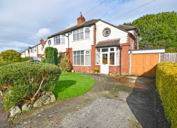 Thumbnail 3 bed semi-detached house for sale in Princess Avenue, Cheadle Hulme, Cheadle