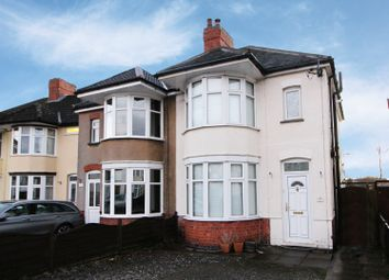 Thumbnail 3 bed semi-detached house for sale in Eskdale Road, Hinckley, Leicestershire