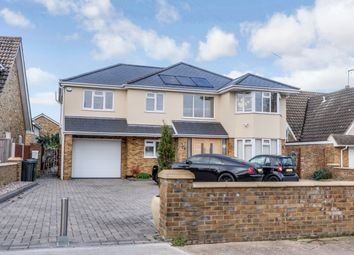 Thumbnail 5 bed detached house for sale in Scrub Lane, Benfleet, Essex