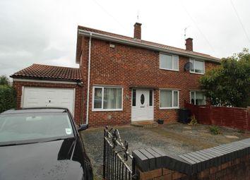 Thumbnail 3 bed semi-detached house for sale in Dunelm Walk, Darlington