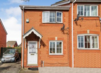 Thumbnail 2 bed semi-detached house for sale in Meadow Brown Road, Bobbersmill, Nottingham