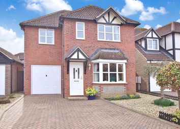 Thumbnail 4 bed detached house for sale in Buckingham Place, Rustington, West Sussex