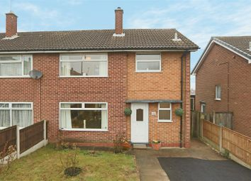Thumbnail 3 bed semi-detached house for sale in Roundwood Road, Arnold, Nottingham
