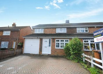 Thumbnail 4 bedroom detached house to rent in Hayley Bell Gardens, Bishops Stortford, Herts
