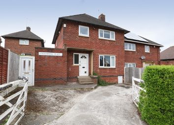 Thumbnail 3 bedroom semi-detached house for sale in Stradbroke Place, Woodhouse, Sheffield