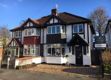 Thumbnail 3 bed semi-detached house for sale in Mill Close, Carshalton