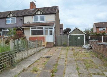 Thumbnail 3 bed terraced house for sale in Brunner Avenue, Shirebrook, Mansfield