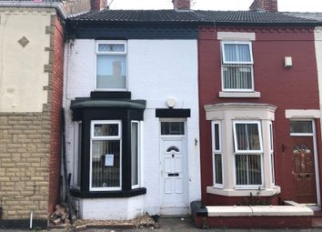 Thumbnail 2 bed terraced house for sale in Yelverton Road, Tranmere, Birkenhead